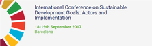 International Conference on Sustainable Development Goals: Actors and Implementation