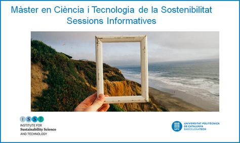 Sessions informatives del Màster en Ciència i Tecnologia de la Sostenibilitat