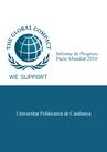 "Portada ""Progreso Pacto Mundial 2010"""